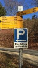 Parkplatz ob Siblingen