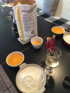 Zutaten Mehl & Eier