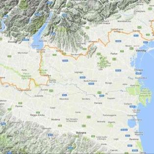 Via Flavia Triest -Aquileia Via Postumia Aquileia – Genua