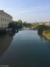 Lonigo / Veneto / Torrente Guà / Italy - 4/17/19