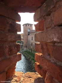 Verona / Veneto / Fiume Adige / Italy - 4/19/19