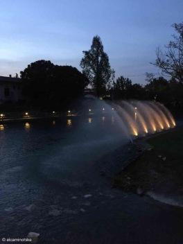 Goito / Lombardy / Fiume Mincio / Italy - 4/21/19