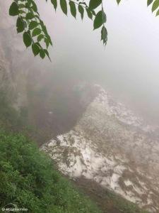 ⚠️ Schnee und Nebel = Abbruch der Route
