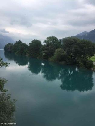 Weesen / St. Gallen / Linthkanal / Switzerland - 7/9/19