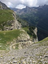 Leukerbad / Valais / Switzerland - 8/22/19
