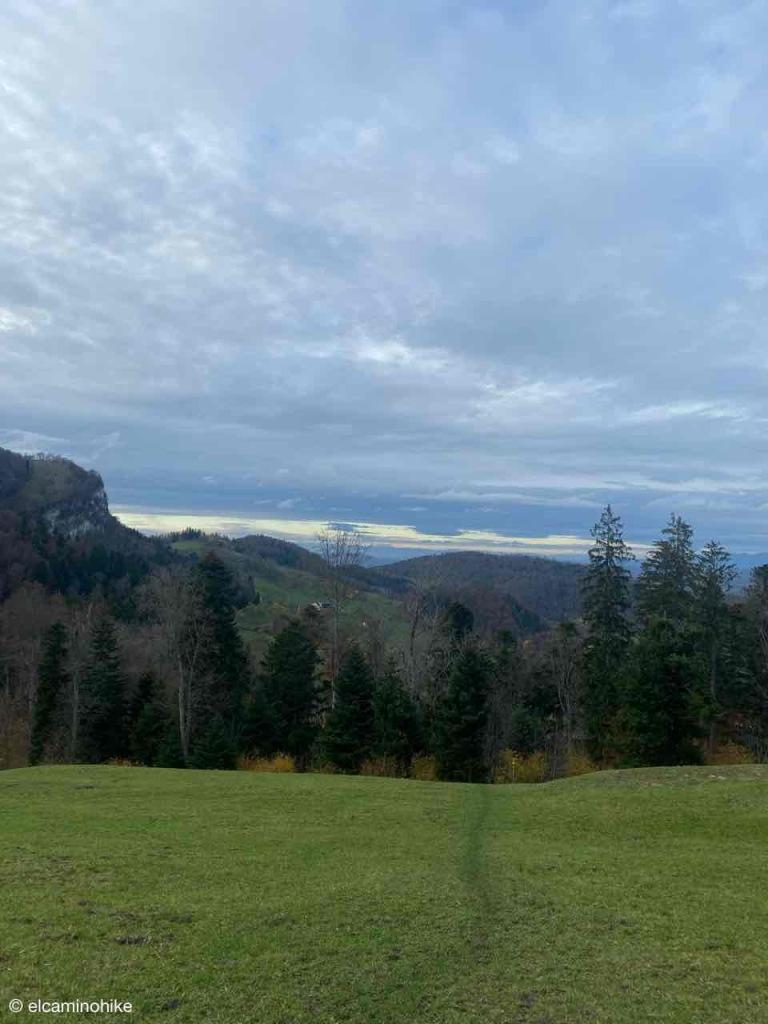 Abstieg vom Berghaus Oberbölchen